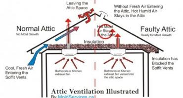 Common Problems of Poor Roof Ventilation   Sunset Ridge Exteriors   Madison