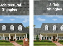 3-Tab Shingles vs. Architectural Shingles